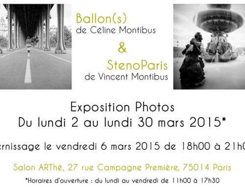 Notre double exposition photos à Paris